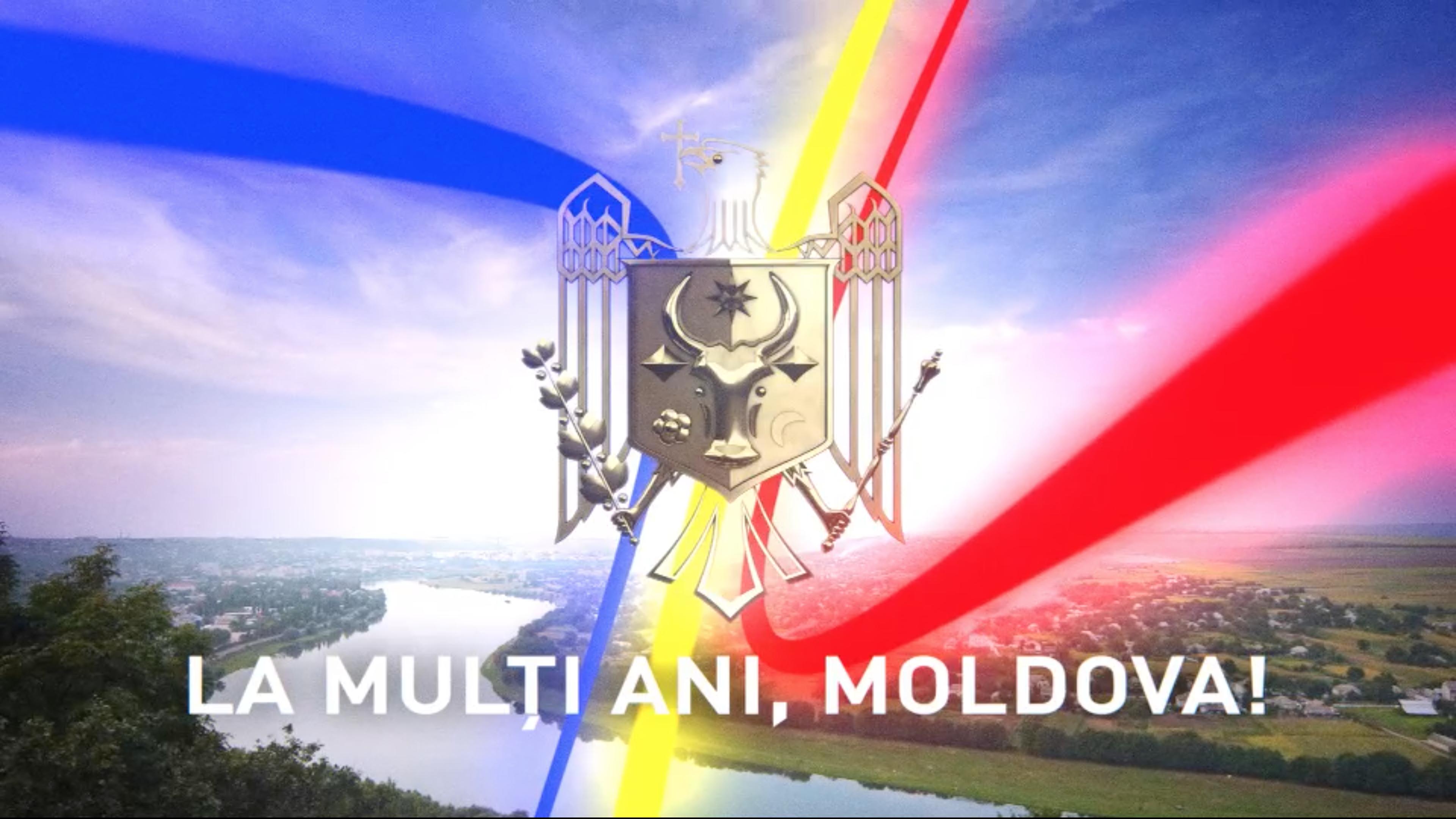 С днём независимости Республики Молдова!